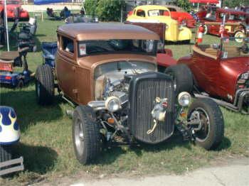 Red Oxide Rat Rodrat Rod Pickup Truck Rat Rod Pickup Truck