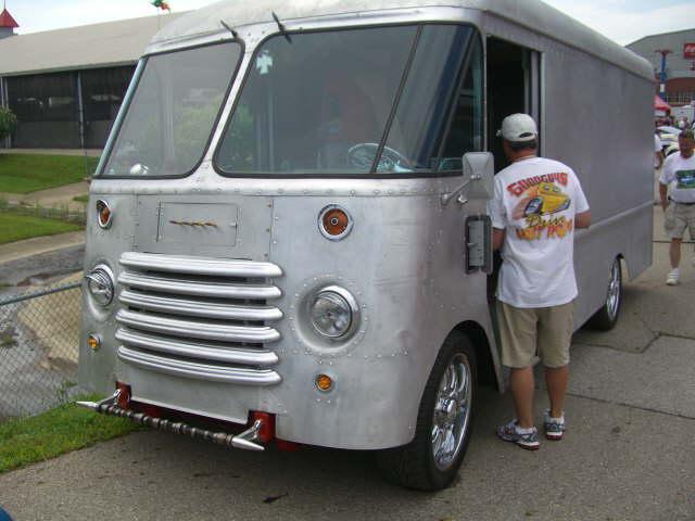 1953 chevy step van
