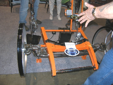 Unisteer Had A Nice Crowd At Their Booth When We Stopped By Many Of Them Looking Great New Electric Steering Ist Unit