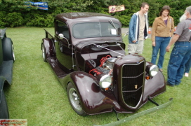 John and Sharron Van Daken 37 Ford pickup