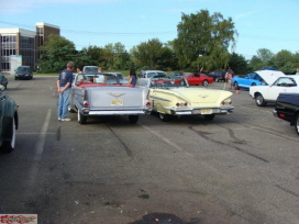 Whiskey Cafe Car Show