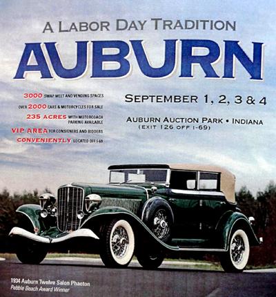 Auburn Cord Duesenberg Show