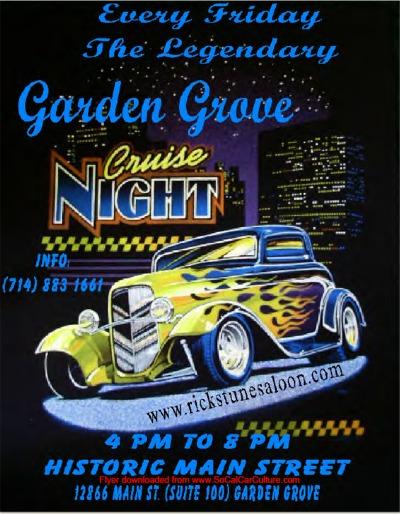 Garden Grove Cruise Night