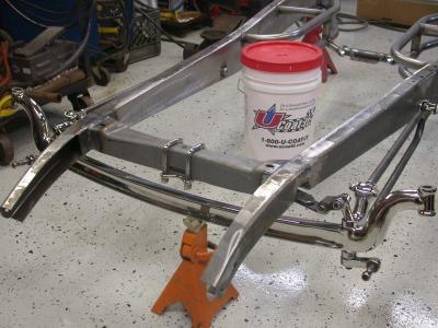 hot rod frame build