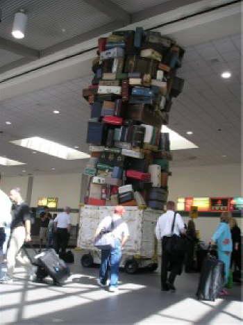 Sacramento Baggage Area