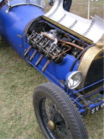 Fine Chain Drive Race Car