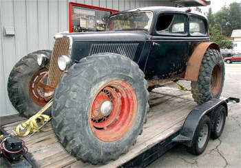 Red neck hot rod