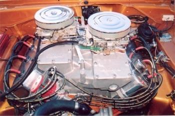Mr Norms GSS Hemi Dart 528 Hemi Engine
