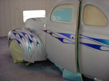 Hotrod Hotline Garage Shots Of Mike Dirr S 40 Ford