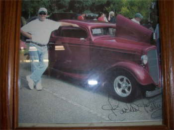 Me and my 1935 Chevy.
