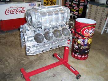 Engine that belonged to Gary Selzie.