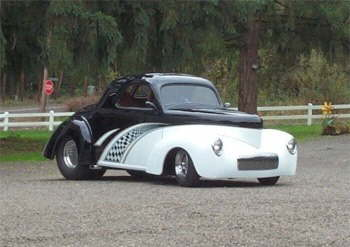 '41 Outlaw Willys Pro-Street Coupe built by Don!