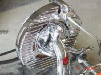 All Chrome Backing Plate