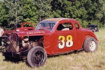 race car #38