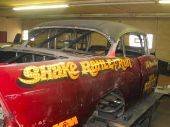 Rattle Can Paint Job >> Shake, Rattle, and Run 1957 Chevy | Hotrod Hotline