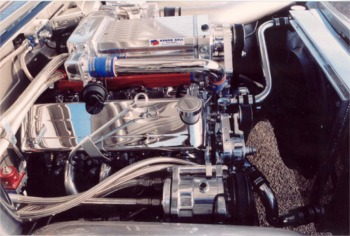 Chevrolet LS2 KB Supercharged Engine
