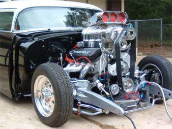 Greg Cape S Pro Street 55 Chevy Hotrod Hotline