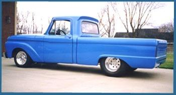 Merle Ward S 1966 Ford F100 Pickup Hotrod Hotline