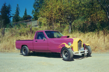 Pseudo Hot Rod Work Truck Hotrod Hotline
