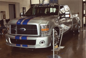 Ford F350 Striker at 2009 GNRS