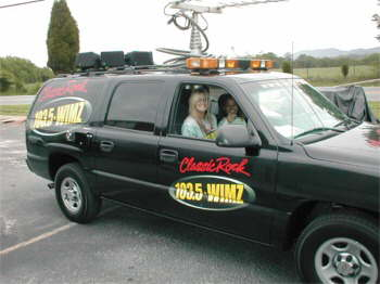 The Radio Crew makin the scene