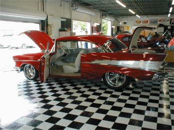 This 57 Chevy has to be seen to be believed, its Super Nice