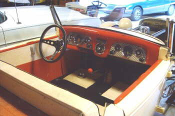 Dash from a '50's car, real neat, hey, check out the radio!