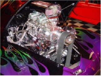 41 Willys Engine