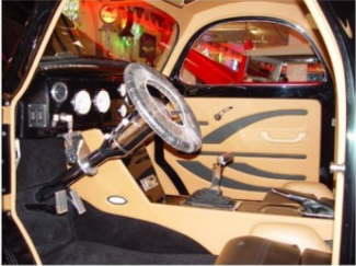 41 willys Interior