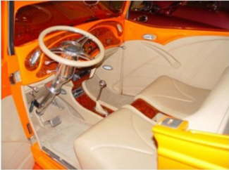 Larry's 35 Chevy interior