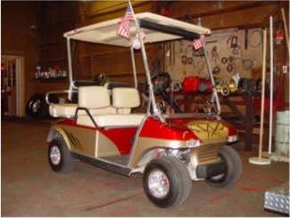 Larrys Golf Cart