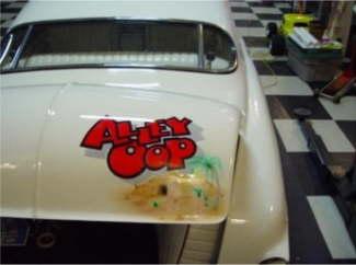 Alley Oop rear shot