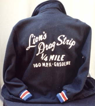 Original jacket from Lion's Drag Strip