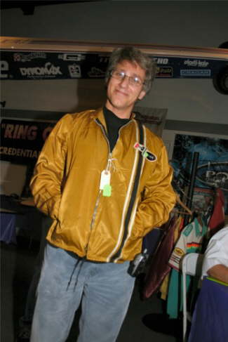 A Photo Of Bill Groak And The Extra Cool 1965 Original Hurst Racing Jacket I Won At The Museum Auction