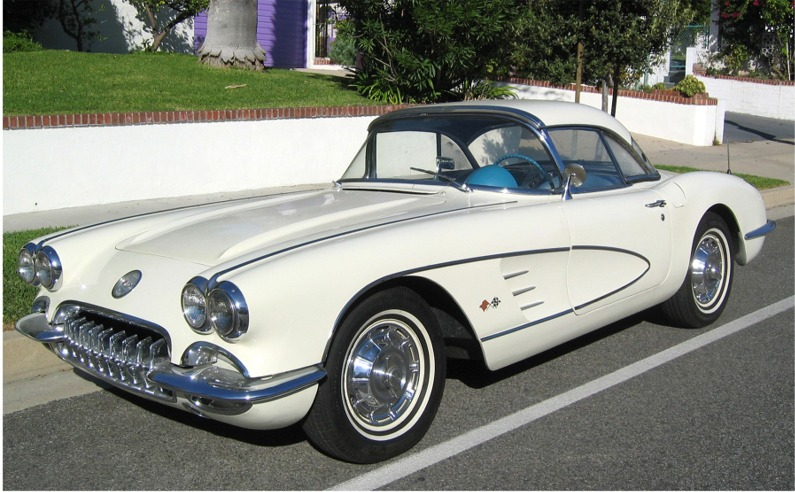 Found Stolen 1960 Corvette July 24th 2008 Hotrod