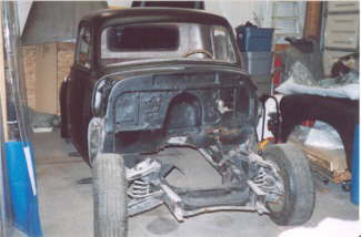 1954 Chevy Pickup Hot Rod Project – Mustang II 12-Bolt Rear, Installing New Cab, Updating Front Suspension, Install 350 / 350 Combo.