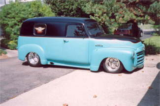 1950 GMC Panel – One Of My Personal Truck Rods.