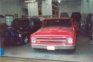 Old Faithful – 1968 Chevy Shortbed Shop Truck.