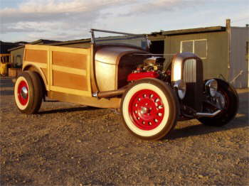1932 Ford Woody I started back in High School