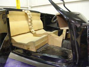 Mock-up interior