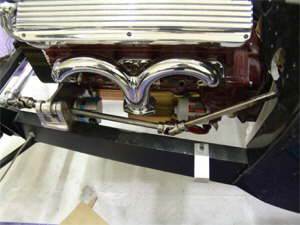 Steering Shaft Header