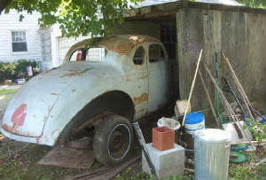 Picking up the 1939 Plymouth Project
