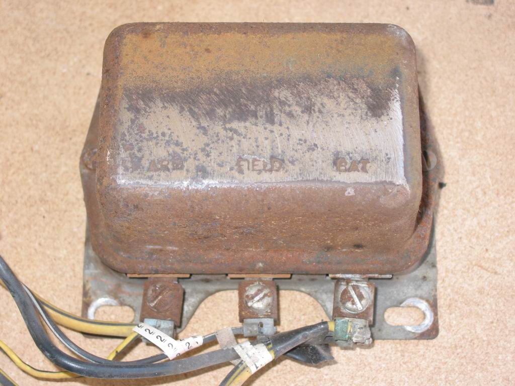 Charging Systems Hotrod Hotline Model A Ford Generator Wiring The Voltage Regulator In 64 As Well Many Other Vehicles Was Mounted Next To Radiator For Easy Access Has Wires