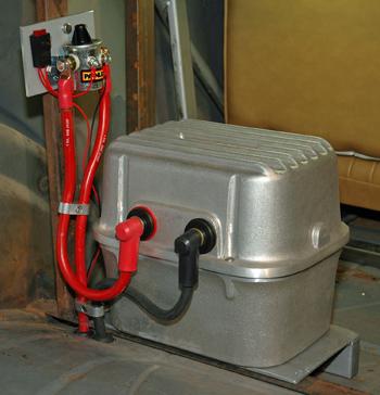 Hotrod Md Jim Clark Installing A Battery Disconnect. Wiring. Battery Disconnect Wiring Diagram Remote At Scoala.co