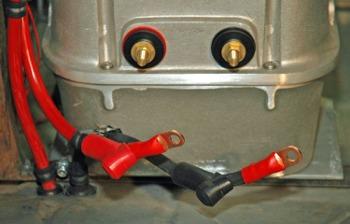 Best Automotive Battery >> Hotrod MD - MSD Ignition - Battery In Trunk