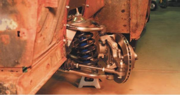 Subframe Installation: Article by Heidts | Hotrod Hotline