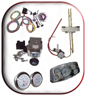 hotrodhotline newsletter ez wiring manufacturers a wide variety of products for your project gauges power window kits wiring harnesses gauge panels and lots more