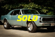 sold 67 camaro