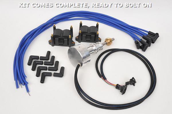 Compu-tronix Distributorless Ignition for American V 8s