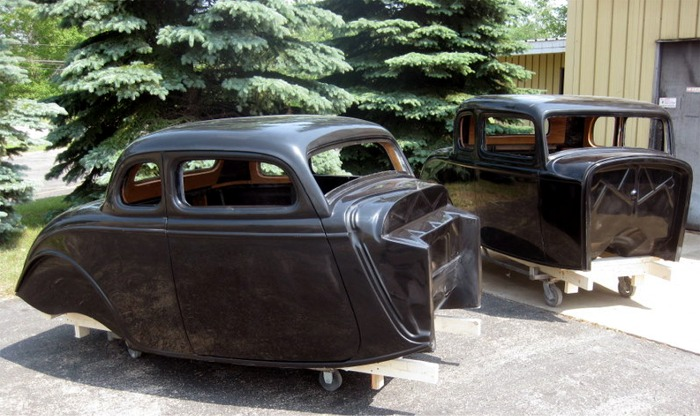 34 Ford 5 Window Coupe